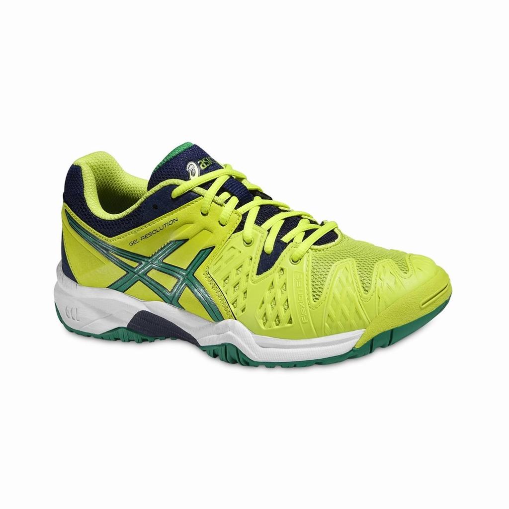Asics Gel-Resolution GS Lime 34.5