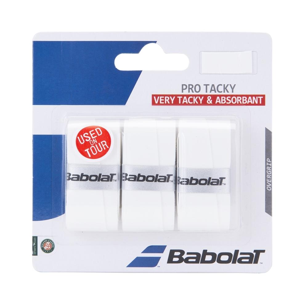 Babolat Pro Tacky White 3-pack