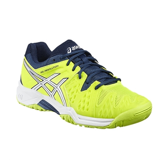 Asics Gel-Resolution GS Safety Yellow 35