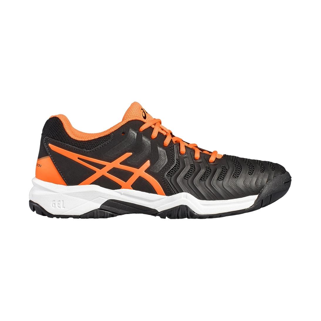Asics Gel-Resolution GS Black/Orange 35