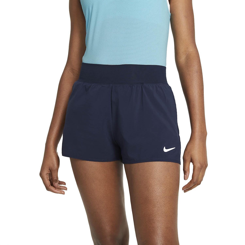 Nike Court Flex Victory Shorts Navy/White XS