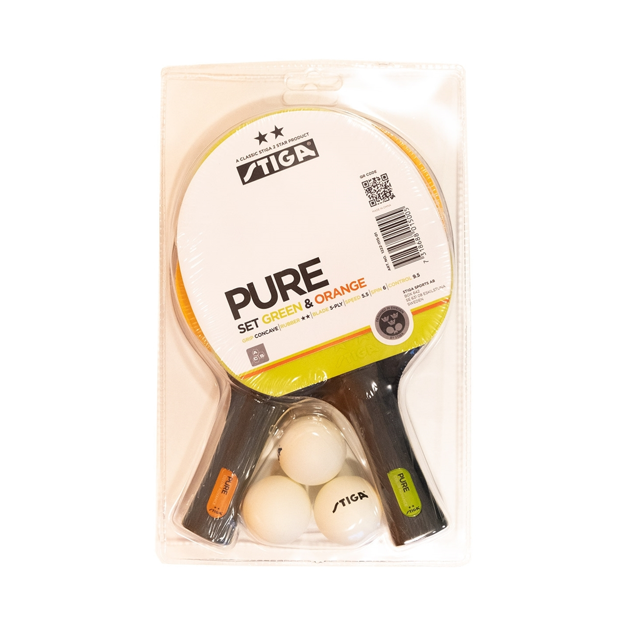 Stiga Pure Set 2-Star