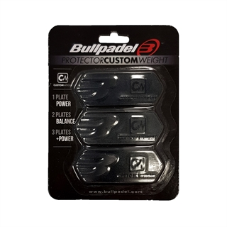 Bullpadel Protector Custom Weight Black