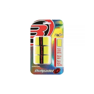 Bullpadel Pro Overgrip 3-pack Yellow Comfort