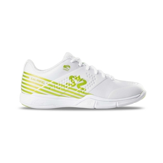 Salming Viper 5 Women White/Lime Punch